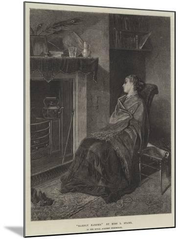 Hardly Earned--Mounted Giclee Print