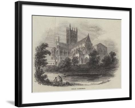 Wells Cathedral--Framed Art Print