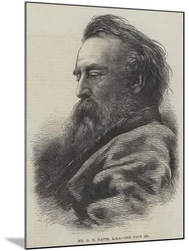 Mr G F Watts--Mounted Giclee Print