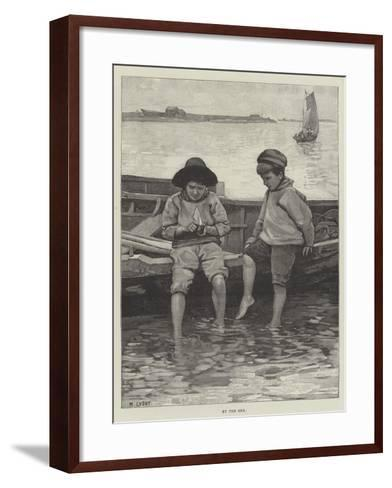 By the Sea--Framed Art Print