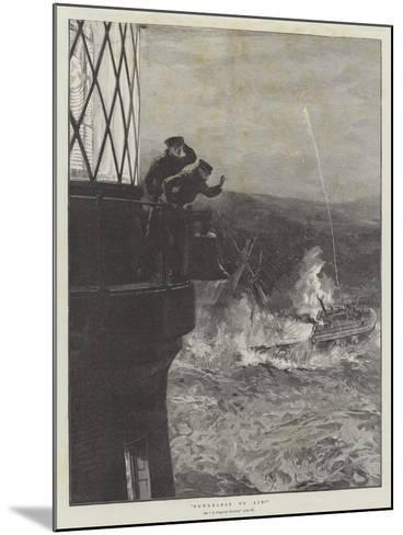Powerless to Aid!--Mounted Giclee Print