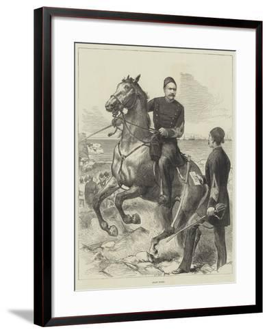 Arabi Pasha--Framed Art Print