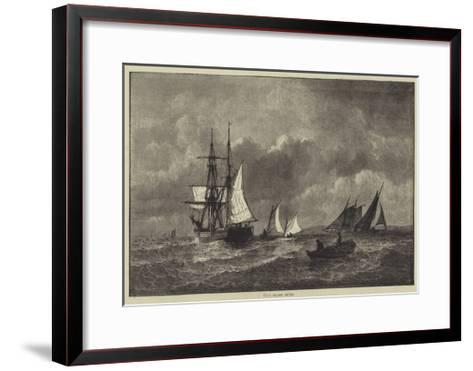 Long Island Sound--Framed Art Print