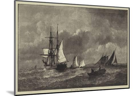 Long Island Sound--Mounted Giclee Print