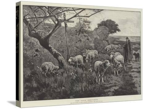 The Good Shepherd--Stretched Canvas Print