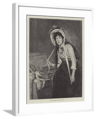 Borrowed Plumes--Framed Art Print