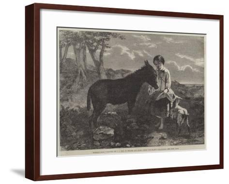 Humble Fare--Framed Art Print