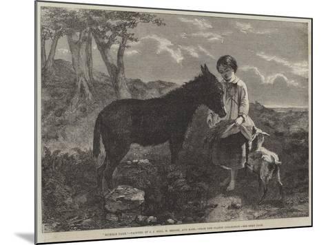 Humble Fare--Mounted Giclee Print
