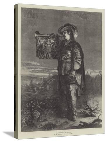 La Reveille--Stretched Canvas Print