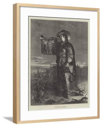 La Reveille--Framed Art Print