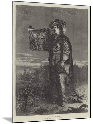 La Reveille--Mounted Giclee Print