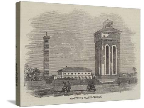 Worthing Water-Works--Stretched Canvas Print