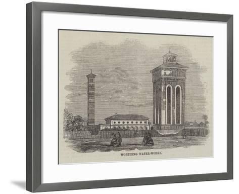 Worthing Water-Works--Framed Art Print