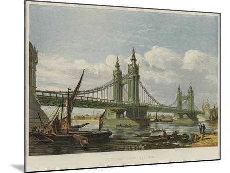 Chelsea New Bridge--Mounted Giclee Print