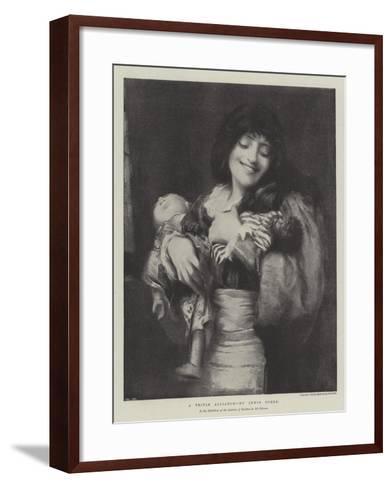 A Triple Alliance--Framed Art Print