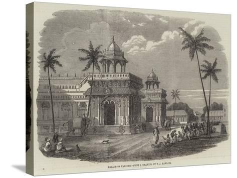 Palace of Tanjore--Stretched Canvas Print