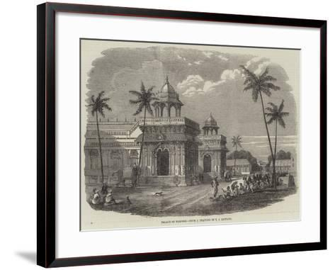 Palace of Tanjore--Framed Art Print