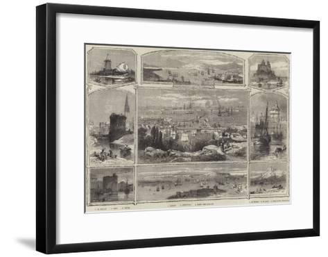Scenes of France--Framed Art Print