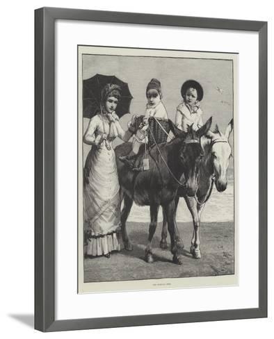 The Morning Ride--Framed Art Print