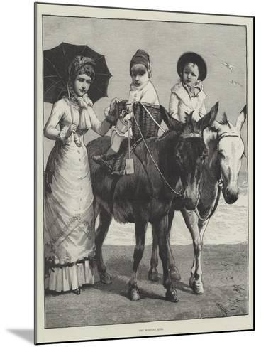 The Morning Ride--Mounted Giclee Print