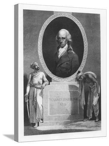 Warren Hastings--Stretched Canvas Print