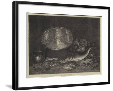 A Kettle of Fish--Framed Art Print