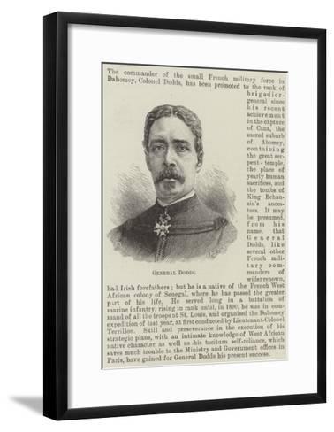 General Dodds--Framed Art Print