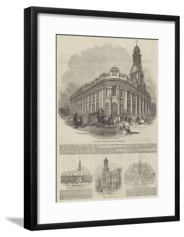The Royal Exchange--Framed Art Print