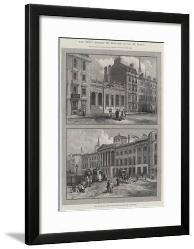 St Paul's School--Framed Art Print