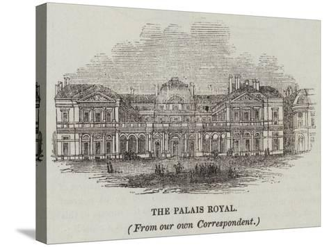 The Palais Royal--Stretched Canvas Print