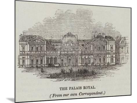 The Palais Royal--Mounted Giclee Print