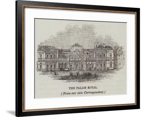 The Palais Royal--Framed Art Print