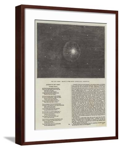 The New Comet--Framed Art Print