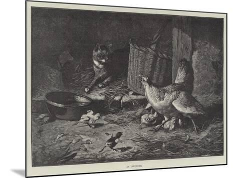 An Intruder--Mounted Giclee Print