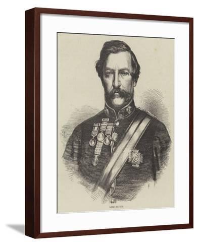 Lord Napier--Framed Art Print