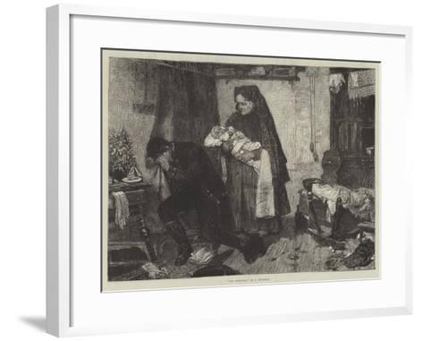 The Widower--Framed Art Print
