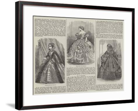 Fashions for March--Framed Art Print