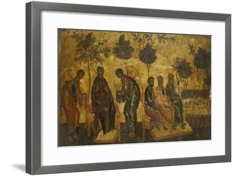 Icon of the Just in Paradise, Early 16th Century--Framed Art Print