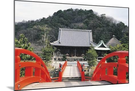 Access Bridge to Shomyoji Temple, Yokohama, Japan, 13th Century--Mounted Giclee Print