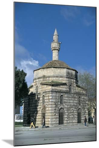 Mosque Along a Road, Mimar Sinan Mosque, Vlore, Albania--Mounted Giclee Print
