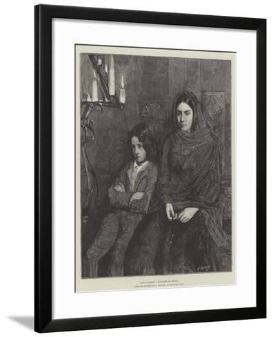 Recueillement, Souvenir De Venise--Framed Art Print