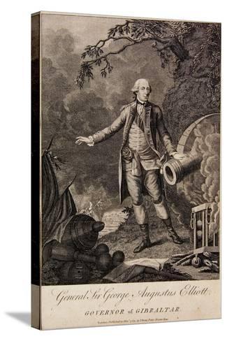 General Sir George Elliott, Governor of Gibraltar, 1783--Stretched Canvas Print