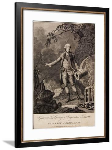General Sir George Elliott, Governor of Gibraltar, 1783--Framed Art Print