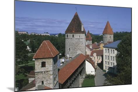 High Angle View of Buildings, Vanalinn, Tallinn, Estonia--Mounted Giclee Print