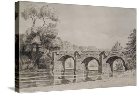 Rothern Bridge--Stretched Canvas Print