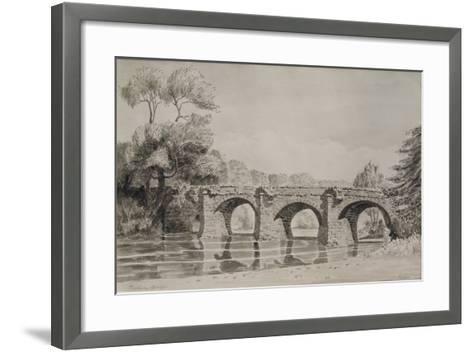 Rothern Bridge--Framed Art Print
