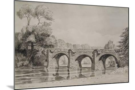 Rothern Bridge--Mounted Giclee Print