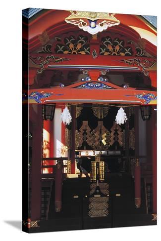 Gate Entrance to Ikuta Shinto Shrine, Kobe, Japan, 3rd Century--Stretched Canvas Print