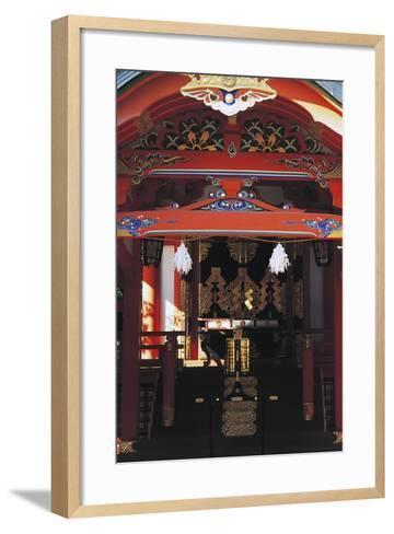 Gate Entrance to Ikuta Shinto Shrine, Kobe, Japan, 3rd Century--Framed Art Print