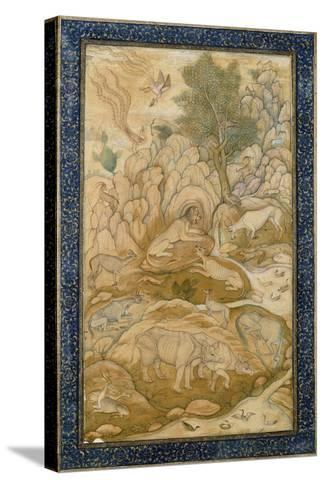 The King of the Forest, C.1600-1610--Stretched Canvas Print